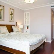 22平米美式风格卧室设计装修效果图鉴赏