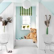简欧风格三居室儿童房飘窗设计效果图鉴赏