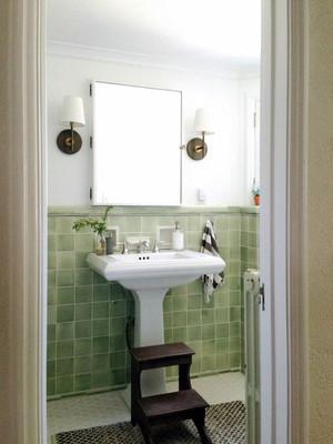 美式田园风格小户型卫生间瓷砖效果图赏析