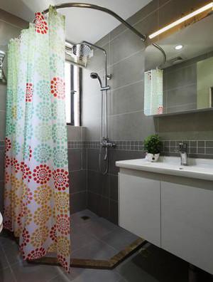 15平米现代风格卫生间淋浴房设计效果图赏析