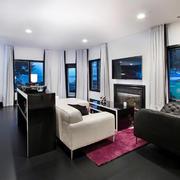 现代风格大户型客厅设计装修效果图鉴赏