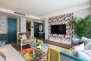 现代混搭风格大户型室内装修设计效果图鉴赏