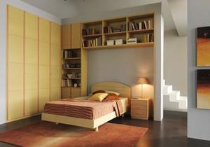 29平米现代简约风格青少年卧室装修效果图鉴赏