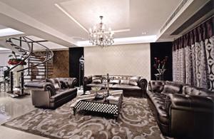 新古典主义风格别墅室内整体装修效果图赏析