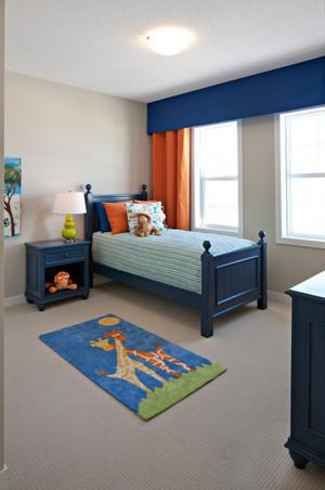 全新地中海风格儿童卧室设计装修效果图