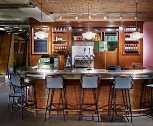 90平米美式风格酒吧装修效果图鉴赏