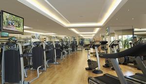 220平米现代风格健身房装修效果图鉴赏