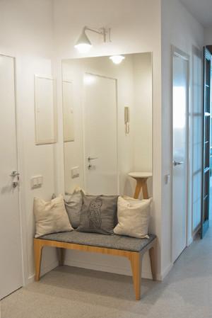 经典现代室内小户型地中海鞋柜装修效果图