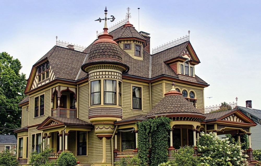 巴洛克风格独栋别墅设计装修效果图鉴赏
