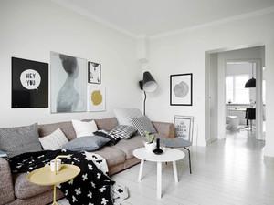 北欧风格大户型室内整体装修效果图鉴赏