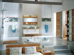 现代风格大户型卫生间装修设计效果图赏析