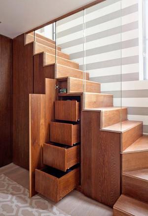 现代风格复式楼创意楼梯装修设计效果图赏析