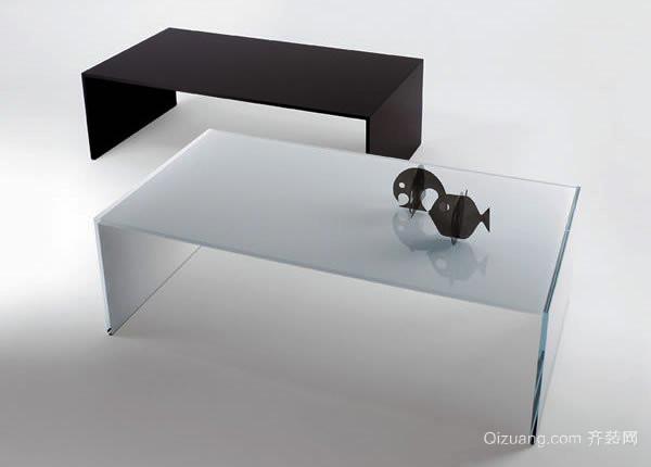 现代风格客厅玻璃茶几效果图赏析