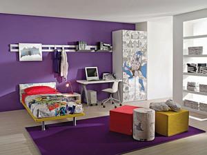 现代风格三居室漫画主义精致儿童房装修效果图鉴赏