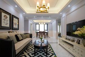 美式风格大户型室内整体装修效果图鉴赏
