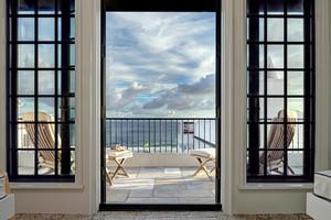 欧式风格别墅阳台设计装修效果图鉴赏