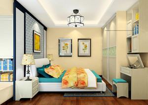 现代风格小户型卧室推拉门设计效果图赏析