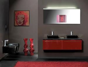 现代简约风格小户型卫生间洗脸盆设计效果图赏析
