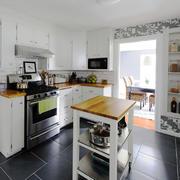 欧式风格小户型厨房装修设计效果图赏析