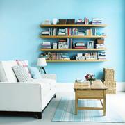 都市小清新风格小户型客厅设计装修效果图赏析