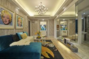 新古典主义风格别墅室内整体装修效果图鉴赏