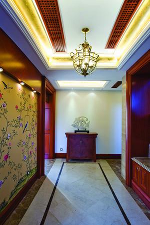 东南亚风格大户型过道走廊吊顶装修效果图鉴赏