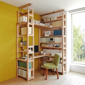 16平米北欧风格书房浅色书桌效果图赏析