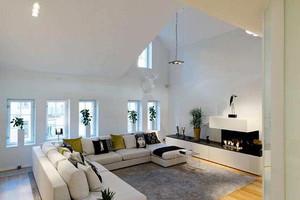 80平米后现代风格复式楼室内装修效果图鉴赏