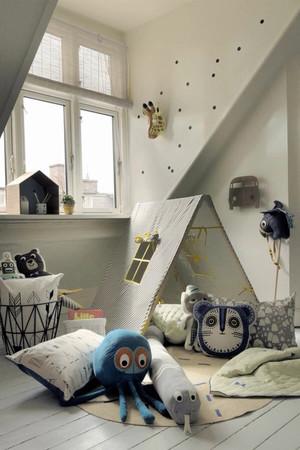 北欧风格三居室儿童房装修效果图鉴赏