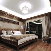 东南亚风格大户型卧室窗帘设计效果图赏析
