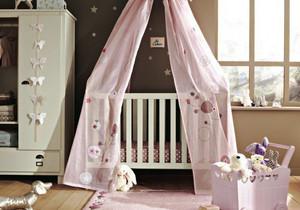 27平米简欧风格儿童房婴儿床设计效果图鉴赏