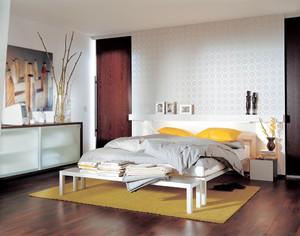 32平米欧式风格卧室背景墙设计效果图赏析
