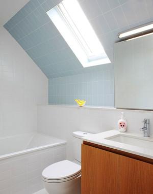 现代简约风格小户型卫生间墙砖效果图赏析