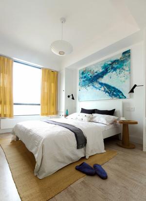 29平米现代风格卧室装饰画设计效果图鉴赏