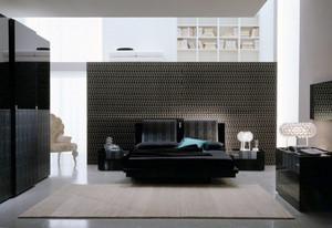 现代简约风格一居室卧室装修效果图赏析