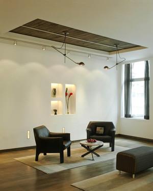 现代loft风格男生公寓室内装修效果图鉴赏