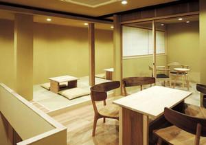 108平米日式风格咖啡厅装修效果图赏析