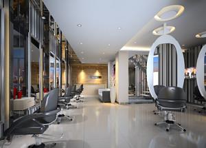 127平米现代风格美发店装修效果图鉴赏
