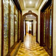 欧式风格别墅精致过道门套设计效果图赏析