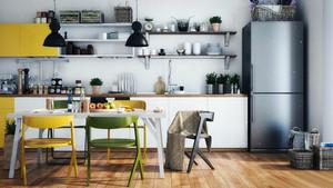 北欧风格小厨房装修设计效果图赏析