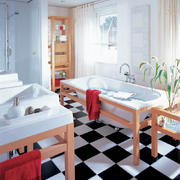 现代简约风格大户型卫生间地砖效果图鉴赏
