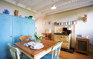 90平米地中海风格餐厅装修设计效果图鉴赏