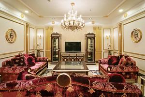 古典欧式风格大户型室内装修效果图鉴赏