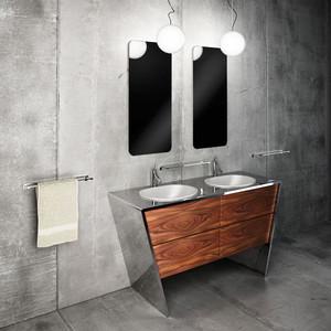 后现代风格小户型卫生间洗手台设计效果图赏析