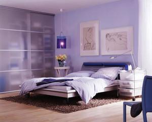 26平米后现代风格卧室衣柜设计效果图赏析