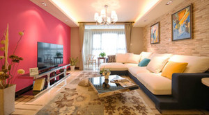 简欧风格三居室室内装修设计效果图赏析