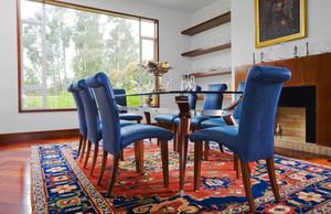 美式风格大户型餐厅地毯效果图鉴赏