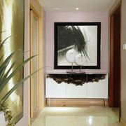 现代简约风格三居室入户玄关设计效果图鉴赏