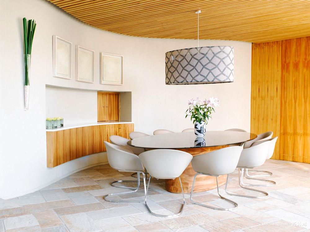 日式风格二居室餐厅吊灯设计效果图鉴赏