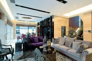 新古典主义风格大型别墅室内装修效果图鉴赏